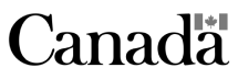 Canadian government logo